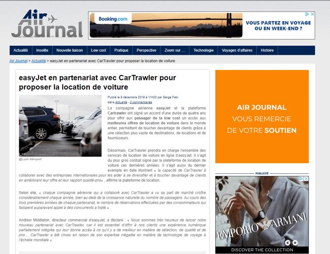 Air journal